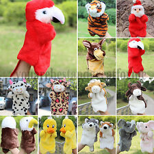 Kid Cartoon Animal Hand Finger Puppets Glove Plush Doll Baby Developmental Toys