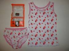 Girls Pretty Vest & Briefs Set * Ages 2-3 * 3-5 * BNWT