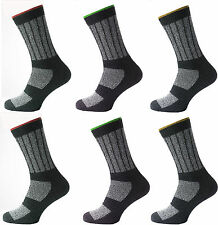 6 Mens KATO™ Cotton Rich INDUSTRIAL Safety Work Socks UK 6-11