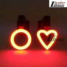 Ultrabright USB Rechargeable Cycling Bicycle Bike Rear Tail Back Light Lamp NEW