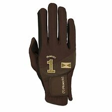Roeckl Reithandschuhe / Riding Gloves MISSION | 3301-260 | mokka