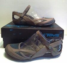 NEW Teva Northwater Brown Mary Jane Sandals Flats Water Shoes WOMENS