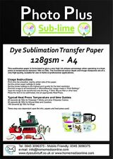 128gsm A4 Dye Sublimation Transfer Paper for Printing on Mugs