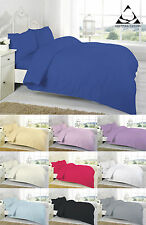 "100% Egyptian Cotton 200TC 16"" Extra Deep Fitted Sheets 4FT single Double King"