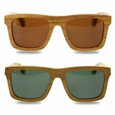 New Fashion Products Glass Comfortable Bamboo Sunglasses Luxury Wooden Frame LN
