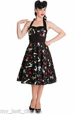 Hell Bunny Forever Dead 50s Dress retro rockabilly pin up swing