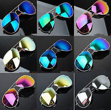 Unisex Vintage Retro Women Men Glasses Mirror Lens Sunglasses Fashion NL