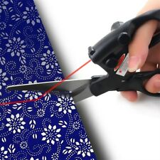 Laser Guided Fabric Scissors Trimmer Sewing Cut Straight Fast Paper Craft LN