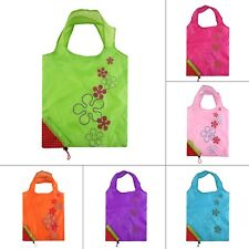 1PCS Strawberry Foldable Shopping Bag Tote Reusable Eco Friendly Grocery Bag LN