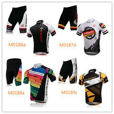 INBIKE Outdoor Cycling Bicycle BIKE Comfortable Man Jersey+Shorts Clothing Sets