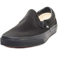Vans Classic Slip-on Mens Unisex Slip On Black Black New Shoes