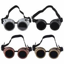 New Goggle Cyber Steampunk Glasses Vintage Retro Welding Punk Gothic SB