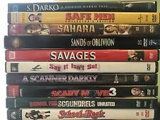 DVD lot 3.49 each S