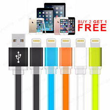 Preimum 2.1A Flat 8pin Lightning Fast Data Sync Charger Charging Cable Lead