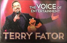 Mirage Hotel Casino Las Vegas key card Feat Terry Fator The Voice Of Entertainme