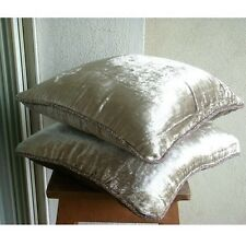 Solid Color Pearl Cushions Cover, Velvet 30x30 cm Cushion Cover - Pearl Shimmer