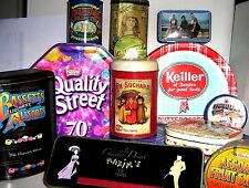 EARLY CONFECTIONERY TINS 1960/2000  click - Select - to browse/order