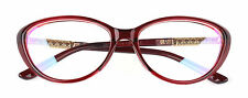 Womens Sexy Retro Cat eye Glasses Frame Optical Eyeglasses Classic Clear lens Rx