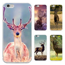 Cute Deer Pattern Case Cover for iPhone 5/6/6S/6 7Plus Samsung Galaxy Nimble