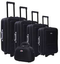 NEW 5 Piece Suitcase Trolley Travel Bag Luggage Set