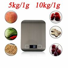 Kitchen Scale Stainless Steel Digital LCD Electronic Postal Food Weighing Scales