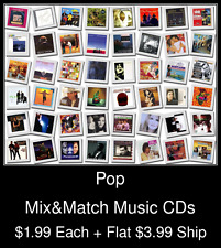 Pop(6) - Mix&Match Music CDs @ $1.99/ea + $3.99 flat ship