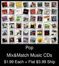 Pop(19) - Mix&Match Music CDs @ $1.99/ea + $3.99 flat ship