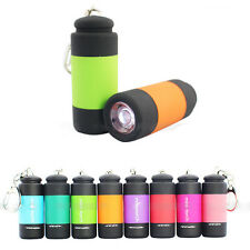 Pocket Mini Torch USB Rechargeable LED Torch Lamp Flashlight Keychain Light