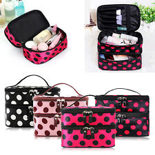 Travel Cosmetic Bag Toiletry Make Up Case Zip Pouch Wash Organizer US Warehouse