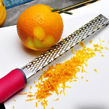 Stainless Steel Lemon Cheese Vegetable Zester Grater Peeler Slicer Kitchen Tool