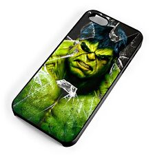 The Incredible Hulk Glass Smash Marvel DC Superhero iPhone Range Cover Case