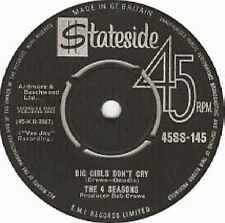 "Four Seasons-Big Girls Don't Cry / Connie-O 7"" 45-Stateside, 45SS-145, 1965, Pla"