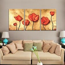 "HUGE MODERN ABSTRACT WALL DECOR ART OIL PAINTING ON LARGE CANVAS ""With Frame"""