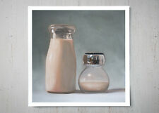 Coffee Cream and Sugar - Signed Art Oil Painting Giclee Print - Lauren Pretorius