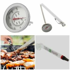 Stainless Steel Cooking Oven Thermometer Probe Thermometer Food Meat Gauge MC