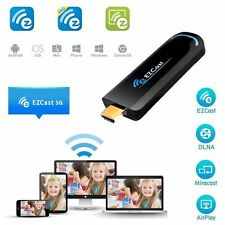 EZCast 2G+5G TV Stick 1080P Airplay DLNA Miracast HDMI WiFi HD Display Dongle OS