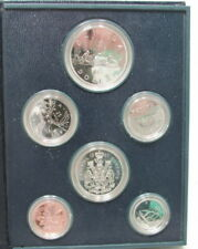 1981 Canada 6 Coin Specimen Set By RCM With COA