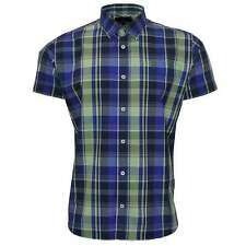 Duck and Cover Pearce Check Shirt in Apple