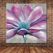 No Frame Modern Painting Hand Painted Flower Oil Painting Canvas Art Wall Decals