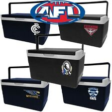 AFL Team Logo On Side | Hard Cooler | 5 Litre | Lunch Box | Drink Holder
