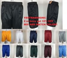 Mens-Mesh-Basketball-Shorts-Unisex-Workout-Gym-Pockets-Short-Pants-Colors-S-5XL