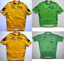 Tour de France 2008 maillot jaune yellow green cycling jersey top Radtrikot Nike