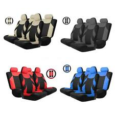 13PCS Vehicle Car Seat Cover Front/Rear Seat Cover Steering Wheel Cover B2E2