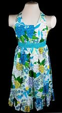 NWT Girls Sizes 7 10 12 Speechless Blue Green Colorful Halter Neck Dress