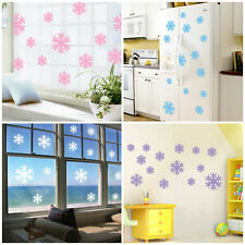 Removable Art Vinyl DIY Frozen Snow Flakes Wall Sticker Decal Mural Home Decor