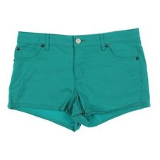 Tinseltown Comfy Low Cotton Twill Shorts with 5 Pockets Green Juniors 11 - NWT