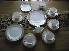 Ridgway Pottery - Adderley Bone China - H429 Pattern - Teaset Items - c1950`s