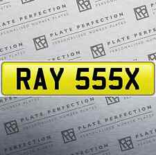 RAY 555X GREAT LOOKING CHERISHED PRIVATE NUMBER PLATE DVLA REGISTRATION