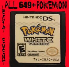 Pokemon White 1 Loaded With All 649 + 60 Legit Event Unlocked Poketransfer Bank