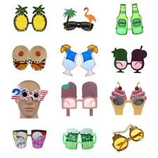Novelty Party Costume Sunglasses Glasses Hawaiian Tropical Fancy Dress Hen Stag